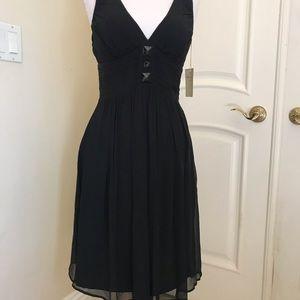 NWT Express silk chiffon dress